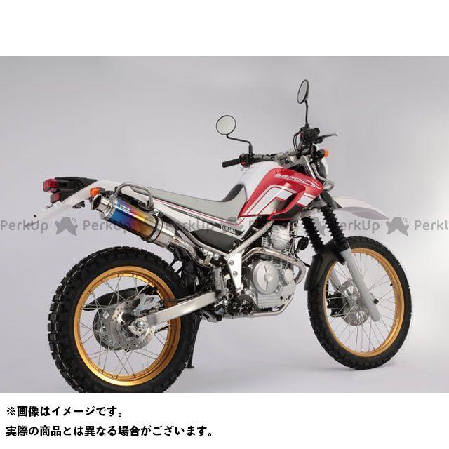 ビームス セロー250 SS300 アップタイプ フルエキゾーストマフラー サイレンサー:チタン BEAMS
