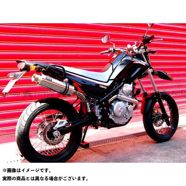 ビームス XT250X SS300 アップタイプ フルエキゾーストマフラー サイレンサー:ソニック BEAMS