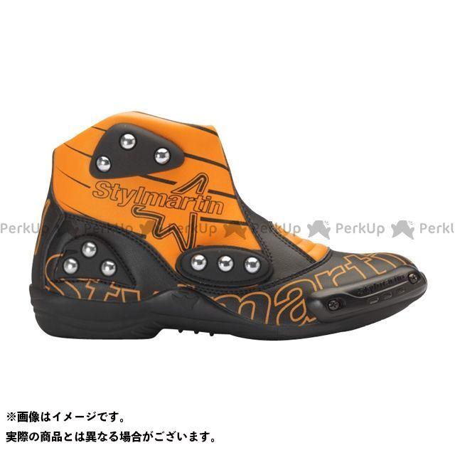 【エントリーで更にP5倍】stylmartin MINIMOTO シリーズ SPEED S1 カラー:オレンジ サイズ:37 スティルマーチン