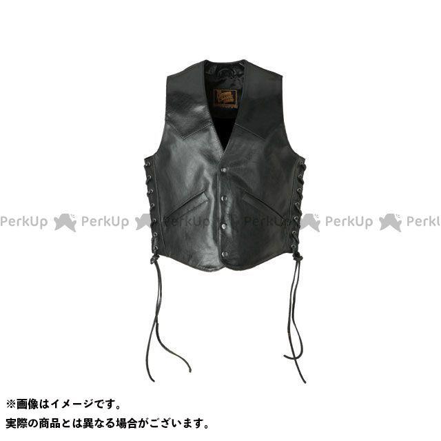 送料無料 DEGNER デグナー ジャケット 3S-V2A レザーベスト ソフトカウ(ブラック) XL