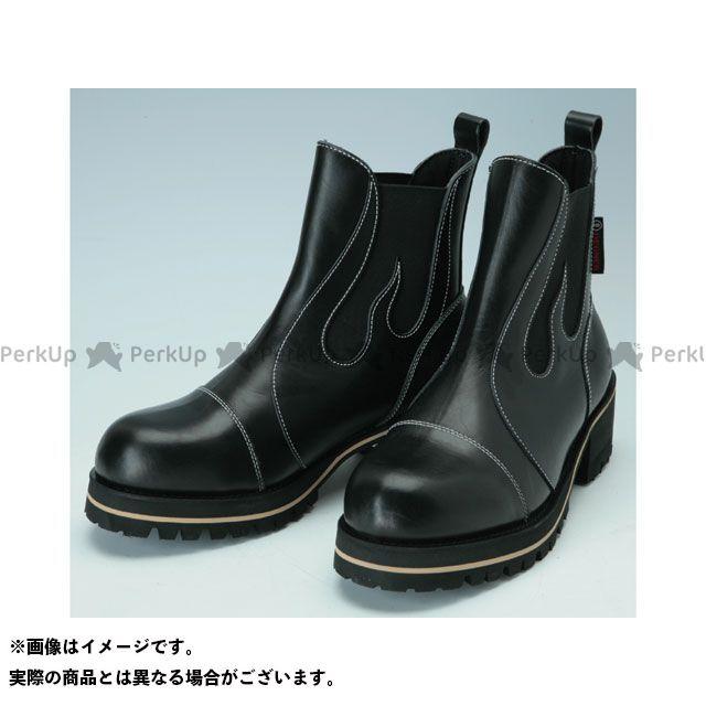 【エントリーで更にP5倍】DEGNER BOM-1 オリジナルメンズサイドゴアブーツ(ブラック) サイズ:24.0cm デグナー