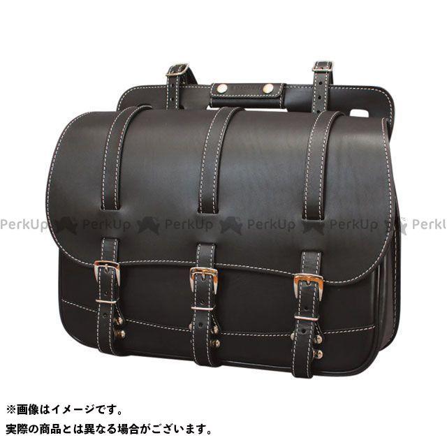送料無料 DEGNER デグナー ツーリング用バッグ SB-18 アメリカンサドルバッグ ブラック
