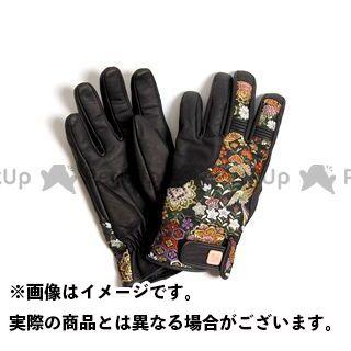 DEGNER 花山 TG-25K ツーリンググローブ(ブラック) 花宝 XL デグナー