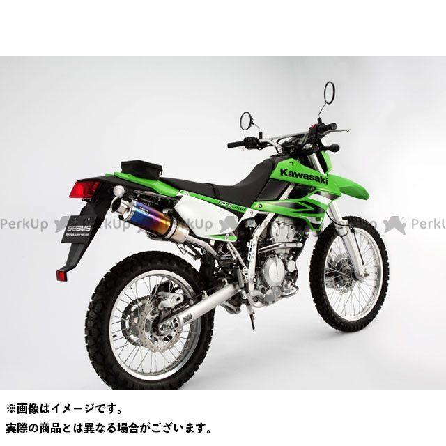 ビームス KLX250 マフラー本体 SS300 アップタイプ フルエキゾーストマフラー チタン
