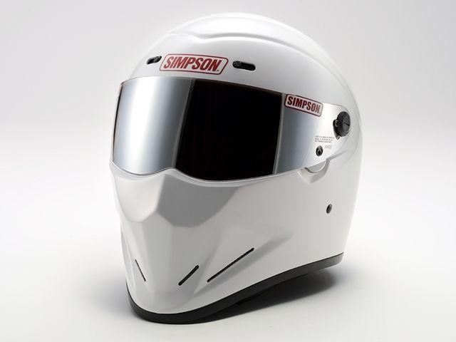 シンプソン SIMPSON フルフェイスヘルメット DIAMONDBACK(ホワイト) 57