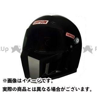 シンプソン SIMPSON フルフェイスヘルメット SUPERBANDIT 13 ブラック 59(7-3/8)
