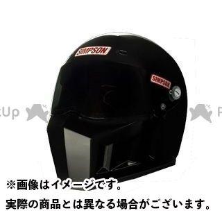 シンプソン SIMPSON フルフェイスヘルメット SUPERBANDIT 13 ブラック 61(7-5/8)