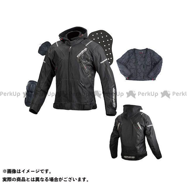 送料無料 コミネ KOMINE カジュアルウェア 2018-2019秋冬モデル JK-596 プロテクトショートウインターパーカ(ブラック/カモ) L