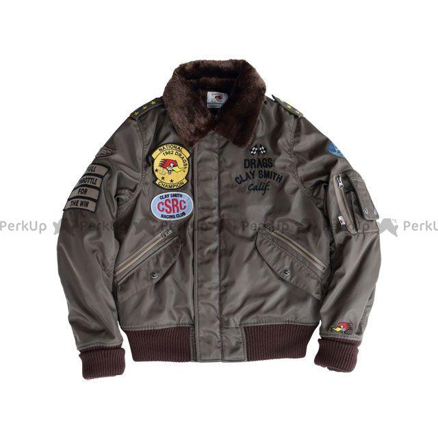 送料無料 Clay Smith クレイスミス ジャケット 2018-2019秋冬モデル CSY-8320 DRAG FORCE(チャコール) M