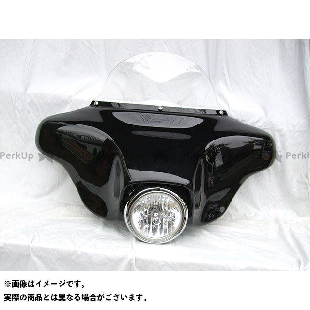 アメリカンドリームス イントルーダークラシック400 カウル・エアロ ファントムカウル(黒)
