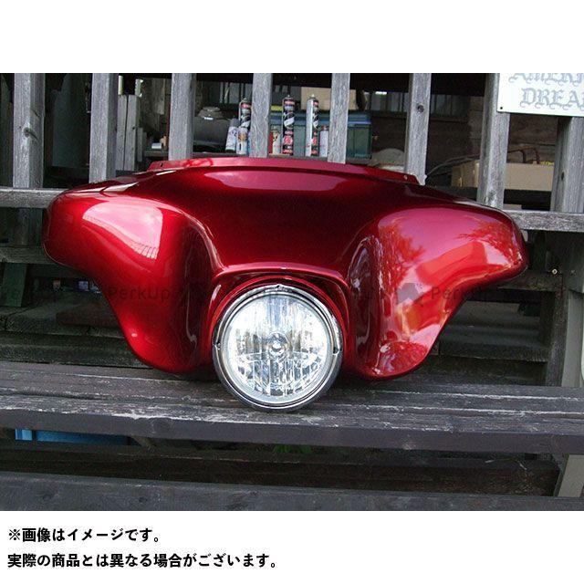 アメリカンドリームス イントルーダークラシック400 カウル・エアロ ファントムカウル(赤)