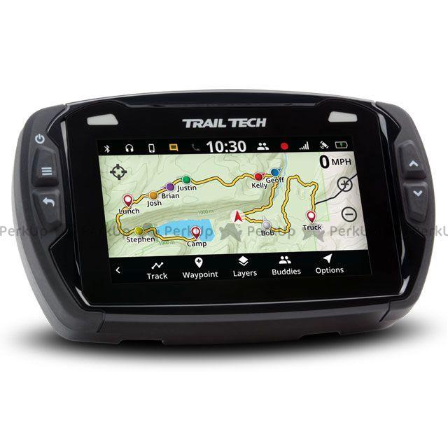 トレイルテック TW200 汎用 メーターキット関連パーツ VOYAGER PRO ボイジャープロ GPS デジタルメーターキット(922-115)