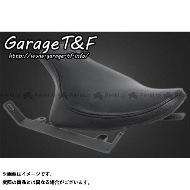 ガレージT&F スティード400 フラットフェンダー専用シングルシート(スムース) ガレージティーアンドエフ