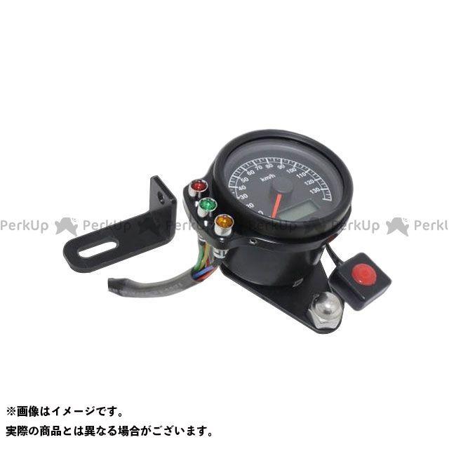 ガレージT&F ドラッグスター1100(DS11) ドラッグスタークラシック1100(DSC11) スピードメーター ミニスピードメーター(ブラック)&インジケーターセット(ブラック) サイド出し仕様