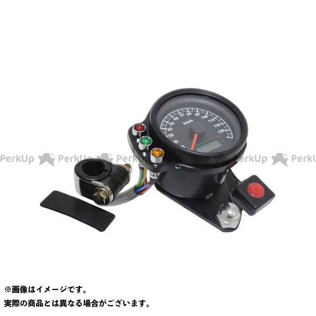 ガレージT&F ドラッグスター1100(DS11) ドラッグスタークラシック1100(DSC11) ミニスピードメーター(ブラック)&インジケーターセット(ブラック) ハンドルクランプ仕様 ガレージティーアンドエフ