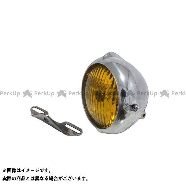 4.5インチビンテージライト(ポリッシュ)&ライトステー(タイプB) キット ドラッグスタークラシック400(DSC4) T&F ガレージT&F