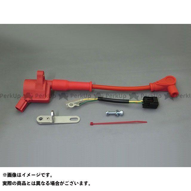 送料無料 クリエイティブ・ファクトリー ポッシュ KSR-1 KSR-2 電装スイッチ・ケーブル レーシングIGコイル EVO スピードプロツイン(レッド)付
