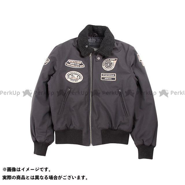 DEGNER 18WJ-8 ソフトシェルフライトジャケット(ブラック) サイズ:L メーカー在庫あり デグナー