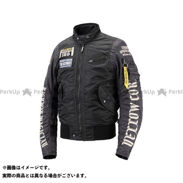 イエローコーン 2018-2019秋冬モデル YB-8302 ウィンタージャケット(ブラック) サイズ:M YeLLOW CORN
