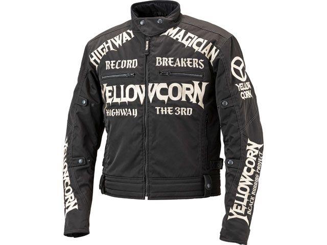 送料無料 イエローコーン YeLLOW CORN ジャケット 2018-2019秋冬モデル YB-8305 ウィンタージャケット(ブラック/アイボリー) 3L