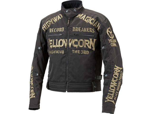 送料無料 イエローコーン YeLLOW CORN ジャケット 2018-2019秋冬モデル YB-8305 ウィンタージャケット(ブラック/ゴールド) LL