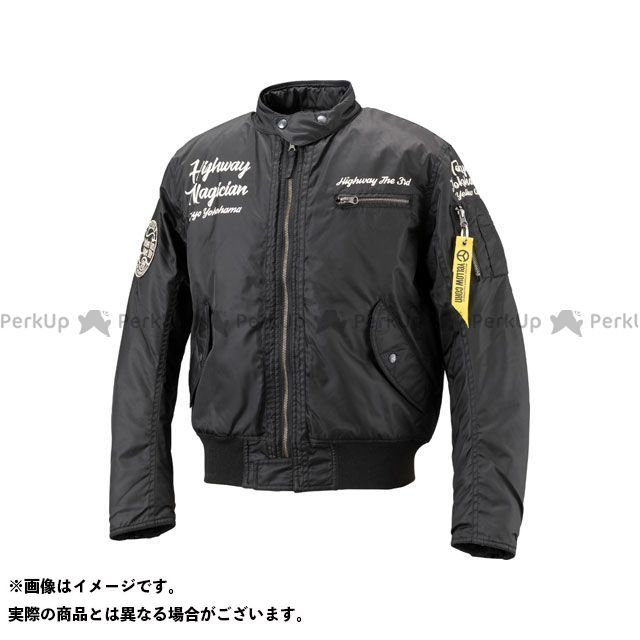 送料無料 イエローコーン YeLLOW CORN ジャケット 2018-2019秋冬モデル YB-8320 MA-1ウィンタージャケット(ブラック) M