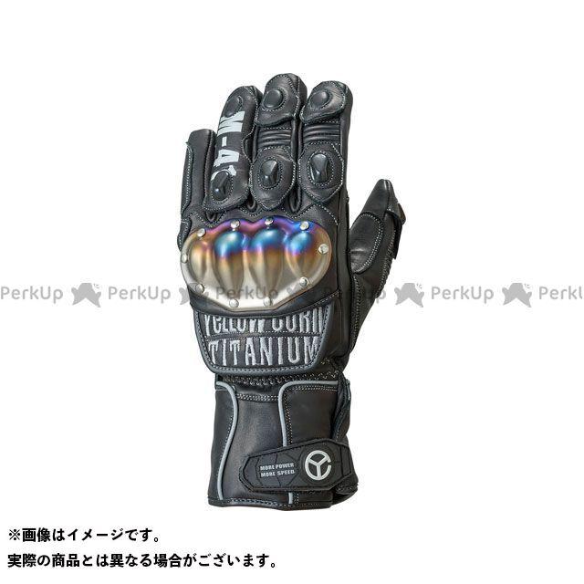 【エントリーで更にP5倍】イエローコーン YG-191W チタニウムウィンターグローブ(ブラック/シルバー) サイズ:L YeLLOW CORN