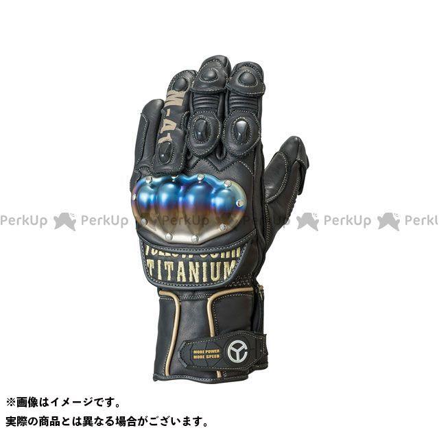 【エントリーで更にP5倍】イエローコーン YG-191W チタニウムウィンターグローブ(ブラック/ゴールド) サイズ:L YeLLOW CORN