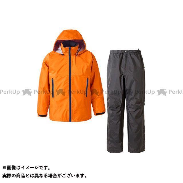 送料無料 プロモンテ PUROMONTE アウトドア用ウェア SR136M ゴアテックス レインスーツ メンズ(オレンジ) L