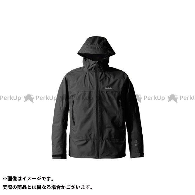 送料無料 プロモンテ PUROMONTE アウトドア用ウェア SJ008M ゴアテックス パックライトジャケット メンズ(ブラック) L