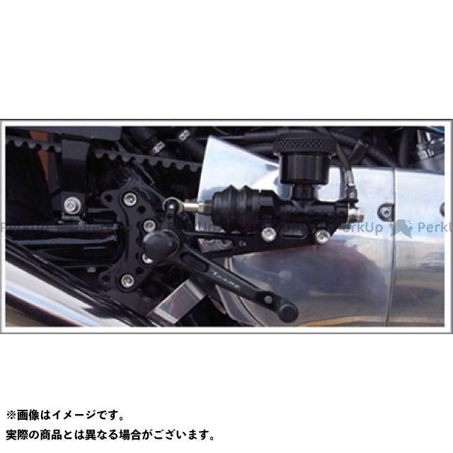 トランプ スポーツスターファミリー汎用 TB-020SBバックステップキット(04~13年スポーツスター) ブラック Tramp Cycle