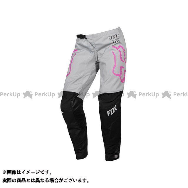 FOX MX19 ウーマンズ 180 パンツ マタ(ブラック/ピンク) サイズ:6 フォックス