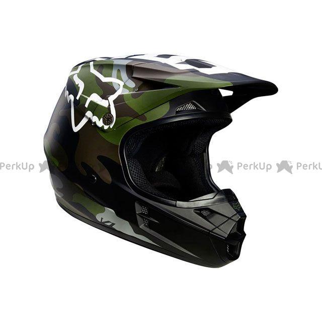 送料無料 FOX フォックス オフロードヘルメット MX18 V1 カモ ヘルメット(カモ) M/57-58cm
