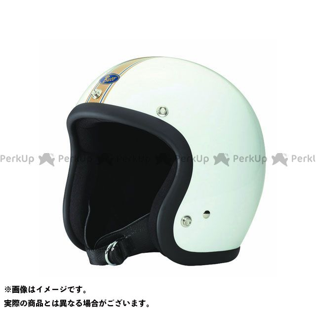 送料無料 BUCO ブコ ジェットヘルメット ブコ スタンダード(ゴールデンストライプ) XS