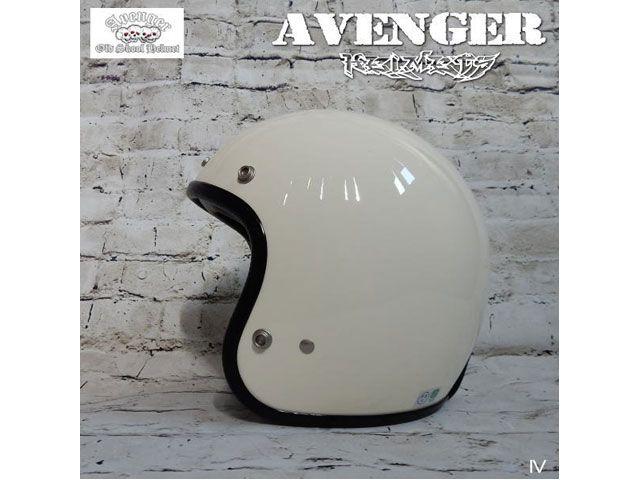 AVENGER アベンジャー ジェットヘルメット ジェットヘルメット(アイボリー)