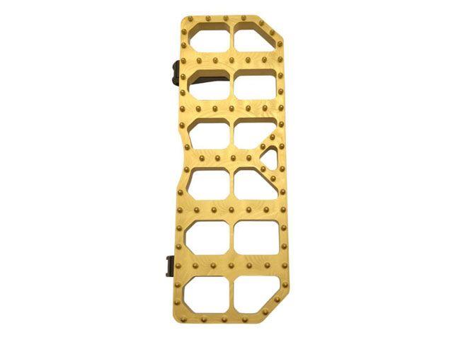 送料無料 ブラスボールズサイクルズ FLD ダイナ スイッチバック ソフテイルファミリー汎用 ツーリングファミリー汎用 ステップ モトフロアボード ゴールド