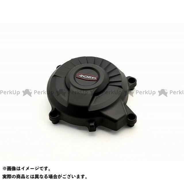 リデア ニンジャ250 ニンジャ400 炭素繊維強化ジェネレーターカバー(ブラック) RIDEA