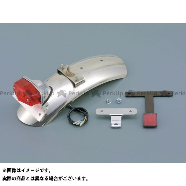 デイトナ W400 W650 ステンレスショートフェンダー リア(ステンレス/バフ) DAYTONA