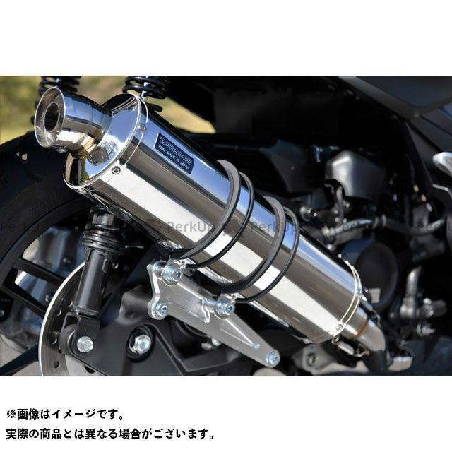 ビームス フォルツァ R-EVO フルエキゾーストマフラー ステンレス 政府認証 BEAMS