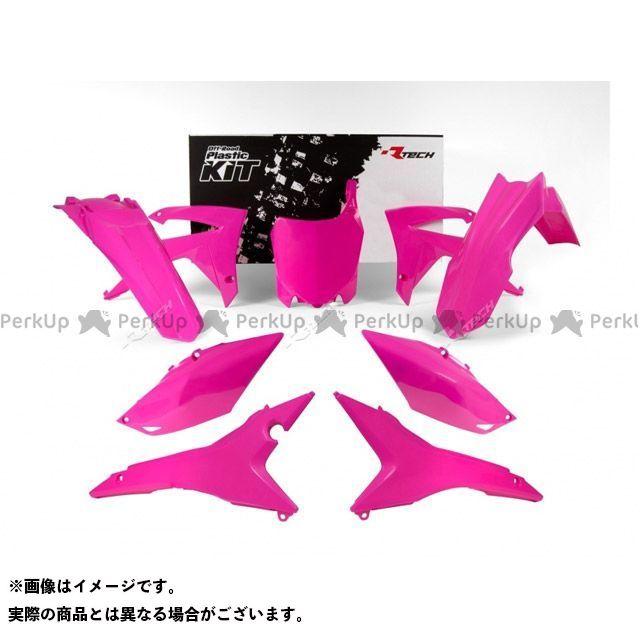 レーステック CRF250R CRF450R 外装キット ネオンカラー(ピンク)
