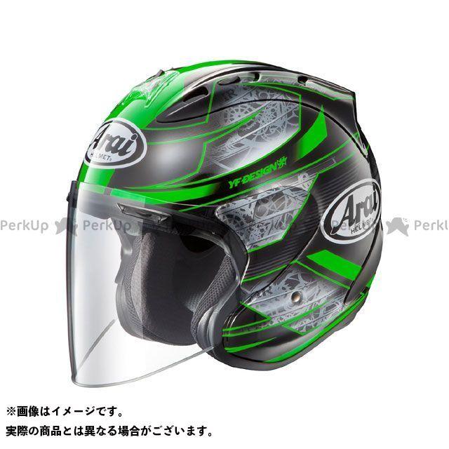 アライ ヘルメット SZ-Ram4 CHRONUS(クロノス) グリーン サイズ:55-56cm Arai