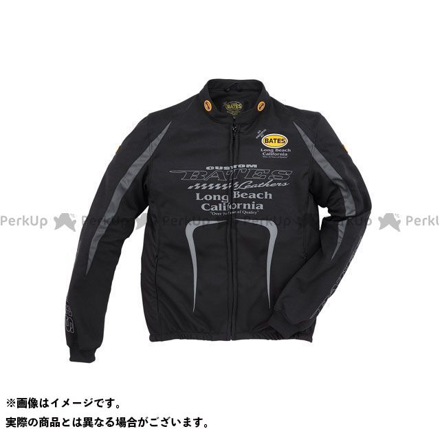 ベイツ 2019春夏モデル BJCT-012 クールテックスメッシュジャケット(ブラック) XXL BATES