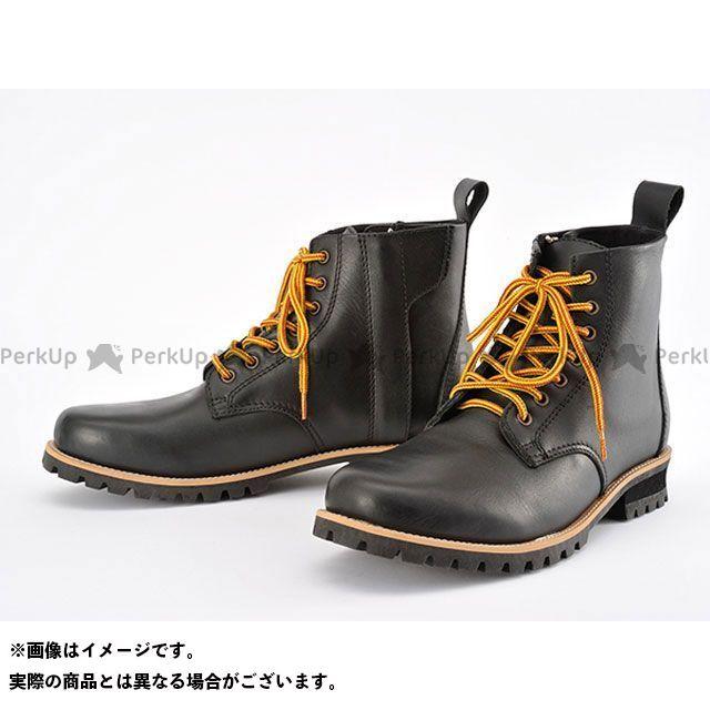 【エントリーで更にP5倍】ヘンリービギンズ HBS-003 ショートブーツ ブラック サイズ:23.5cm HenlyBegins