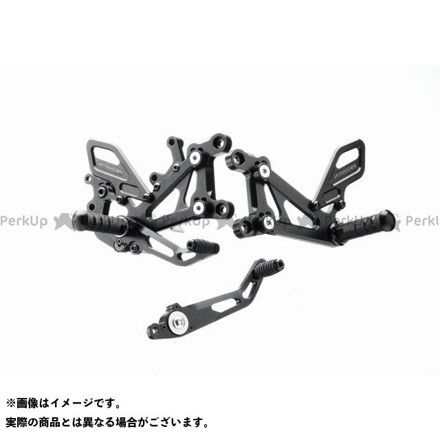 ストライカー MT-10 スペシャルステップキット 4ポジション(ブラックハードアルマイト) STRIKER