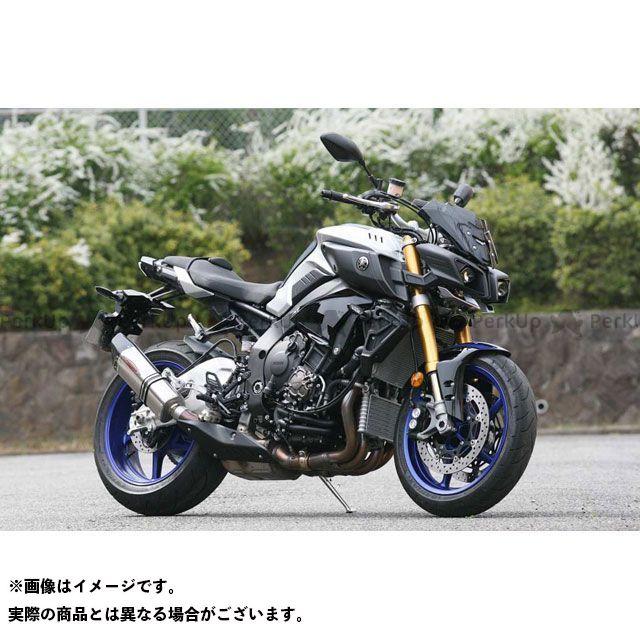 【エントリーで更にP5倍】ストライカー MT-10 INTER MODEL SC スリップオン OFF-Type B JMCA サイレンサー:チタンソリッド STRIKER