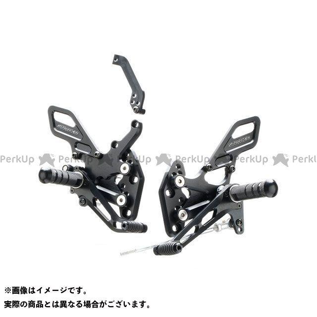 ストライカー GSX-R125 スペシャルステップキット(ブラックハードアルマイト) STRIKER