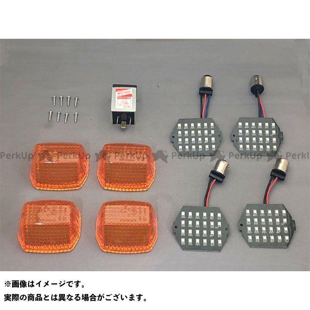 クリエイティブ・ファクトリー ポッシュ C.F.POSH ウインカー関連パーツ 電装品 クリエイティブ・ファクトリー ポッシュ ニンジャ900 LED ウインカーカスタマイジングキット シーケンシャルタイプ ポジション付 オレンジ C.F.POSH