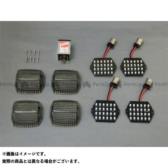 クリエイティブ・ファクトリー ポッシュ ニンジャ900 LED ウインカーカスタマイジングキット シーケンシャルタイプ ポジション無 カラー:スモーク C.F.POSH