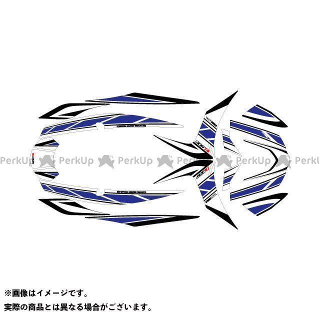 MDF シグナスX シグナスX グラフィックキット ストロボ ブルー タイプ:コンプリートセット エムディーエフ