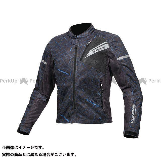 【無料雑誌付き】コミネ 2019年春夏モデル JK-140 プロテクトフルメッシュジャケット(クラッシュブルー/ブラック) サイズ:XL KOMINE